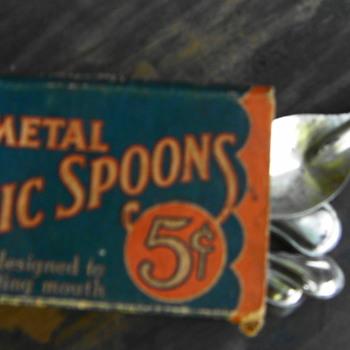 Metal Picnic Spoons - Kitchen