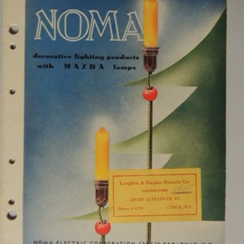 1935 NOMA LIGHTS CATALOG - Paper