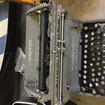 1940's Underwood Typewriter - Office