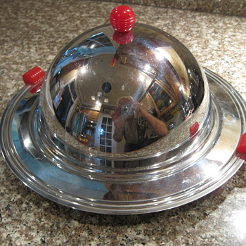 1950's Deco Covered Hors d'oeuvre' Server - Kitchen