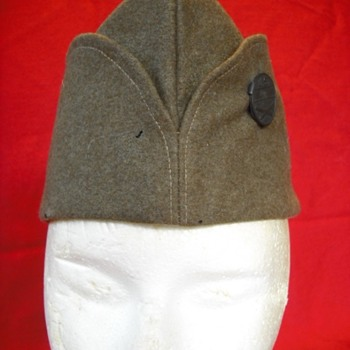 WWI US Overseas Cap #2 – French pattern - Military and Wartime