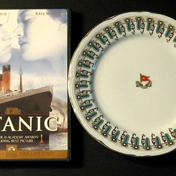 Titanic Dinner Plate  - Movies