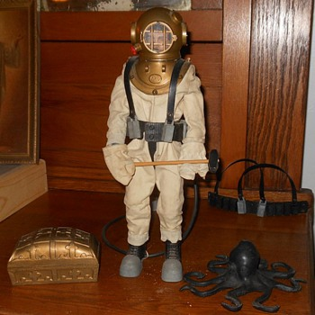 GI Joe 1965 Deep Sea Diver - Toys