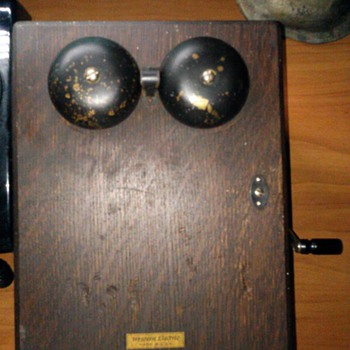 My Western Elecetric ringer Box