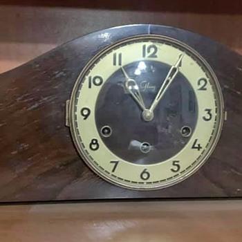 Glunz German Mantle Clock - Clocks