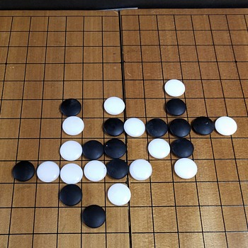 "Japanese ""Go"" Board Game - Asian"