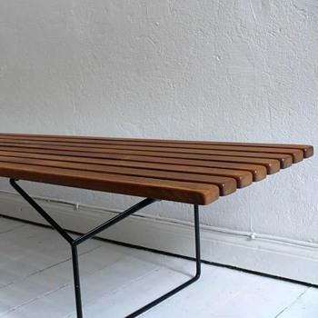 harry bertoia bench - Mid-Century Modern