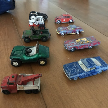50's toy cars  - Model Cars