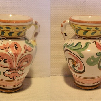 Small, decorated porcelain vase. From where and when ?  - Pottery