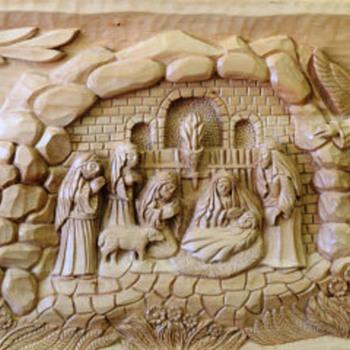 The Birth of Jesus - Fine Art