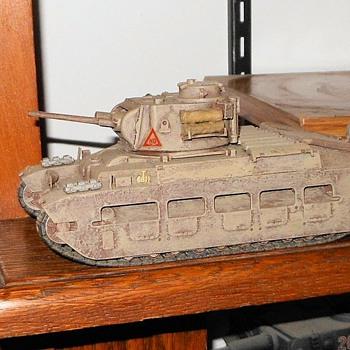 Tamiya 1/35th Scale Matilda II Tank - Military and Wartime