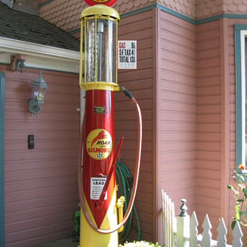 Wayne visable gas pump - Petroliana