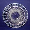 Fenton triple open edge bowl.