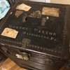 1920s Antique B.B&B steamer trunk.