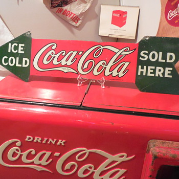1927-1929 Coca-Cola Arrow Sign