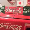 1927-1929 Coca-Cola Arrow Sign