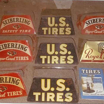 old stuff from old tire store - Petroliana