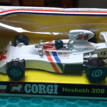 Corgi Hesketh-Ford 308 1975/76 (1:36 scale) - Model Cars