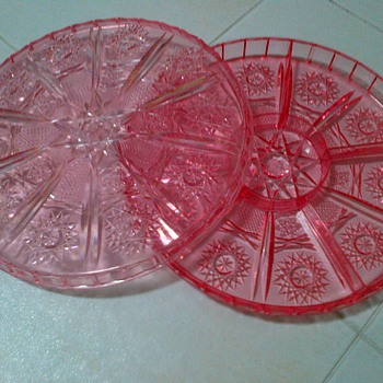 1960s/70s Plastic candy tray