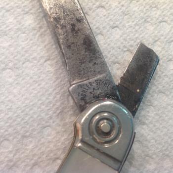 Identify vintage pocket knife