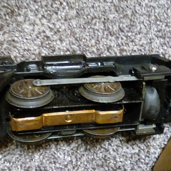 Extremely Rare, marx electric 400 smoking train set! - Model Trains