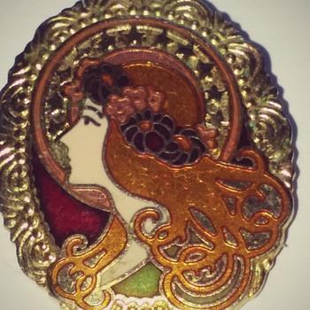 Hallmark coat pin - Costume Jewelry