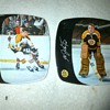 1970 Bobby Orr and Ed Johnson Boston Bruins Plates