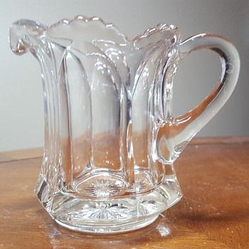 Small Glass Pitcher - Glassware