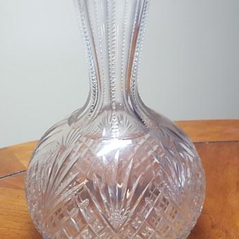 American Brilliant Cut Glass Decanter