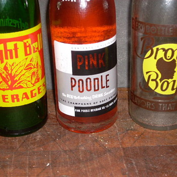 Why I like painted label sodas - Bottles