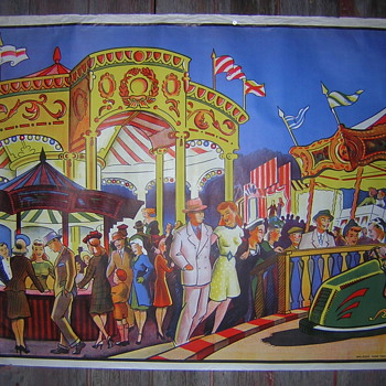 ART DECO CIRCUS / CARNIVAL POSTER - Posters and Prints