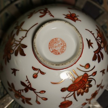 Japanese Porcelain Ware - Decorated in Hong Kong