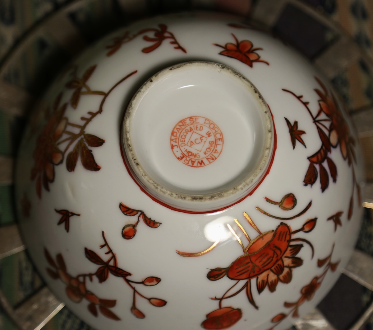 & Japanese Porcelain Ware - Decorated in Hong Kong | Collectors Weekly