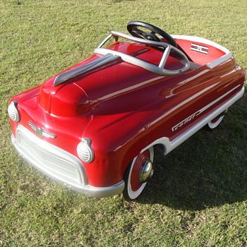 1950 Murray Comet Jet Drive Pedal Car! - Model Cars