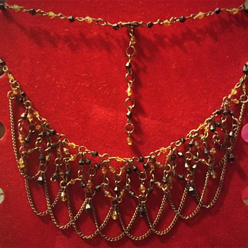 Costume Jewelry Necklace, Unknow how Old No markings light weight??? - Costume Jewelry