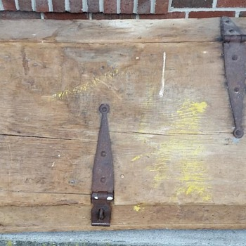 1800's Tool Box - Tools and Hardware