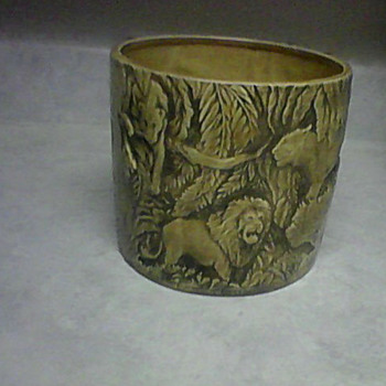 WILD CATS PLANTER  - Animals