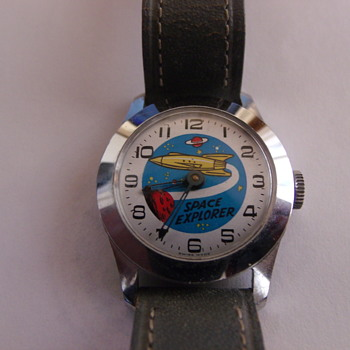 Second Issue Space Explorer Wristwatch - Wristwatches