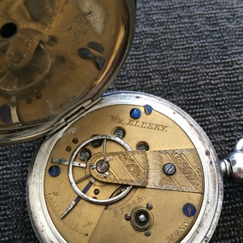 Same as Lincolns Hunter case pocket watch - Pocket Watches