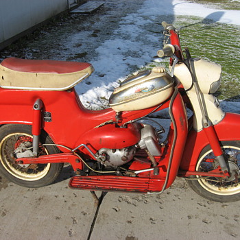 1962 Sears Allstate Compact scooter by Puch - Motorcycles