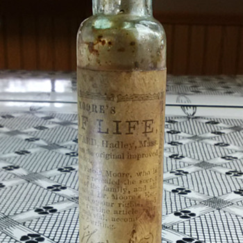 1845 Essence of Life - Bottles