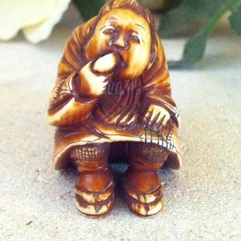 Ivory netsuke. - Asian