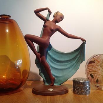 GOLDSCHEIDER 'ADAGIO' - JOSEF LORENZL - Pottery
