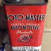 Moto-Master automotive products tin.