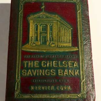 Antique Bank Book - Coin Operated