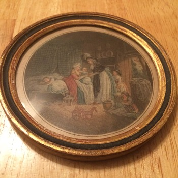 Antique French Etching