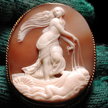 Venus with dolphins - Victorian Era