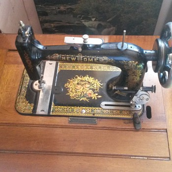NEW HOME 1906 usa sewing machine,distributed by pinnock queen elizabeth building sydney nsw