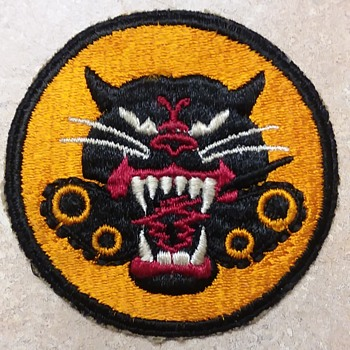 WW2 US Army Tank Destroyer shoulder patch - Military and Wartime