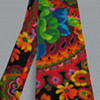 Psychedelic 1960's - early 1970's Flower Power Neck Tie